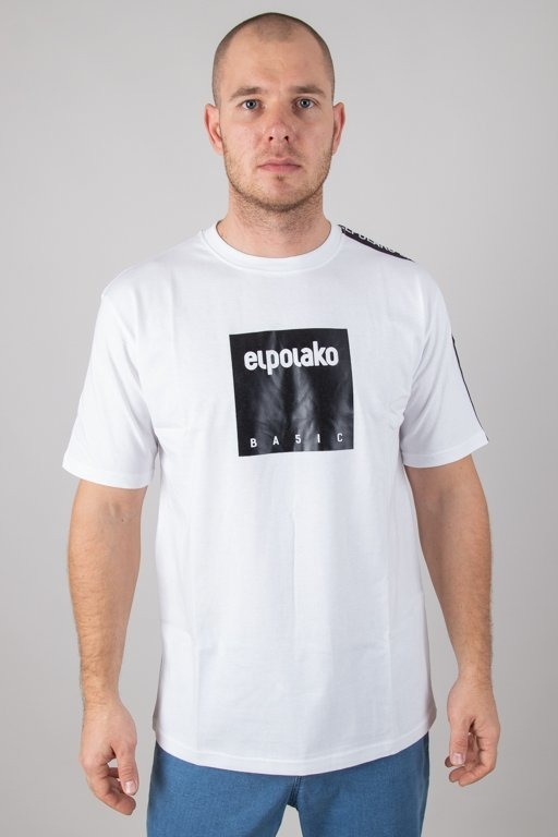 EL POLAKO T-SHIRT BOX STYLE WHITE