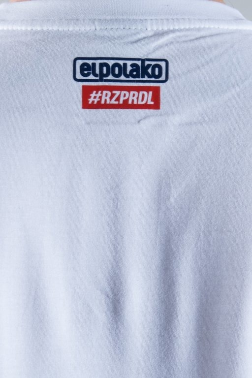 EL POLAKO T-SHIRT FLAG WHITE