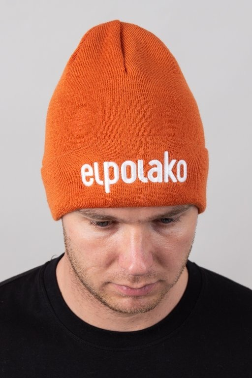 EL POLAKO WINTER CAP BASIC ORANGE