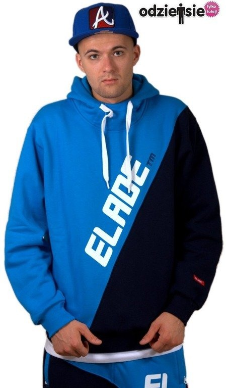 ELADE BLUZA Z KAPTUREM UNION BLUE