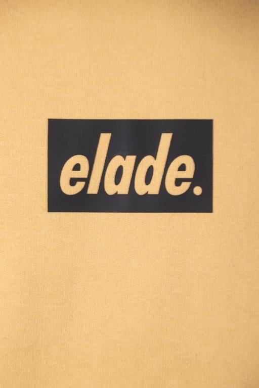 ELADE CREWNECK BOX 3D MUSTARD