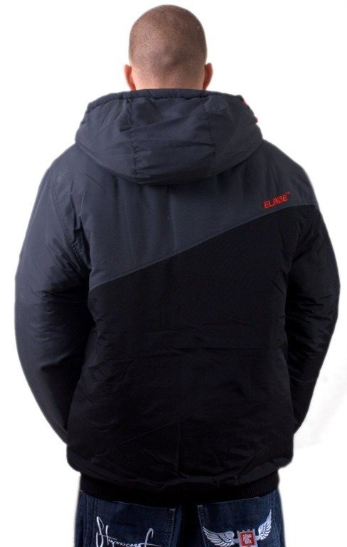 ELADE KURTKA ZIMOWA SNOW CROSS BLACK-RED