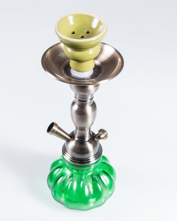 Fajka Shisha Mirror Green
