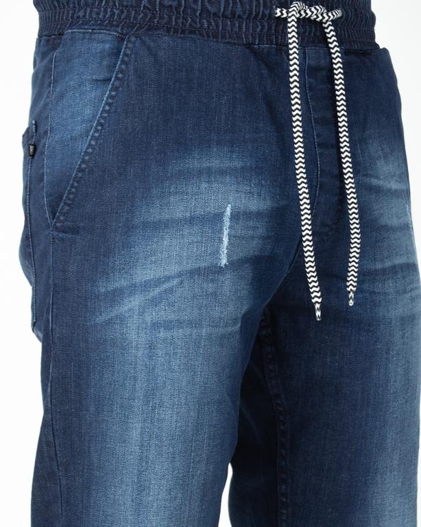 Jeansy SSG Skinny Premium Przecierane Dark