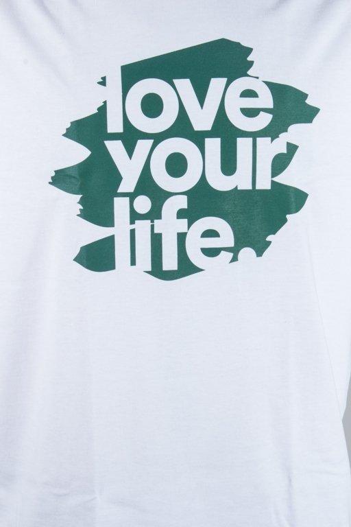 Koszulka Alkopoligamia Lyl Blur White