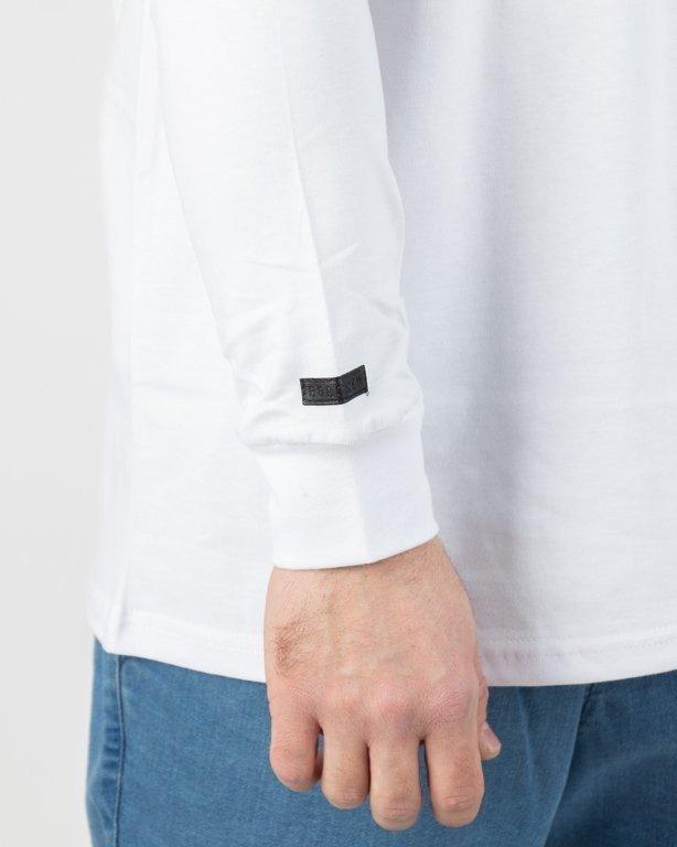 Koszulka Bor Longsleeve Classic Borcrew White