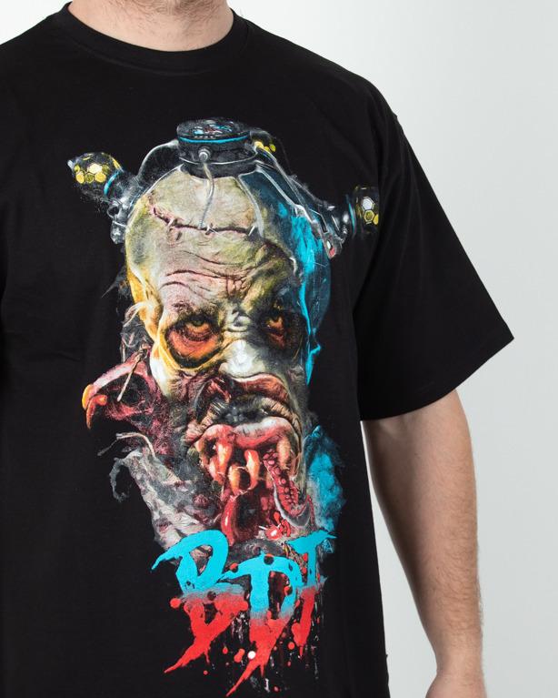 Koszulka Braind Dead Familia Cyber Zombie Black