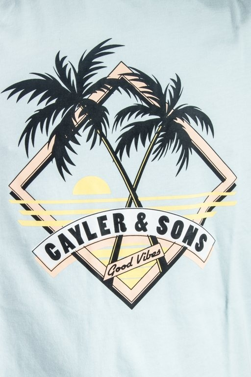 Koszulka Cayler & Sons Vibin' Light Blue