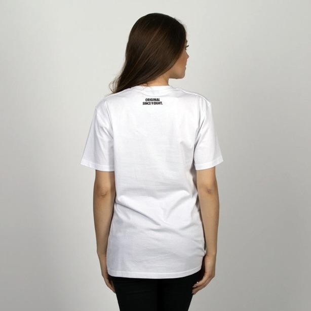 Koszulka Damska Mass Base White