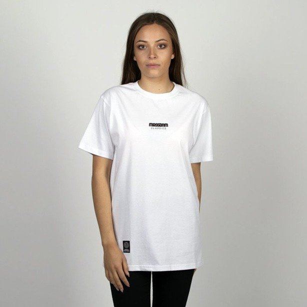 Koszulka Damska Mass Classics Small Logo White