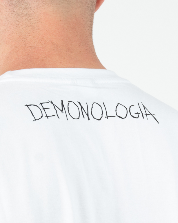 Koszulka Demonologia Nożyczki White