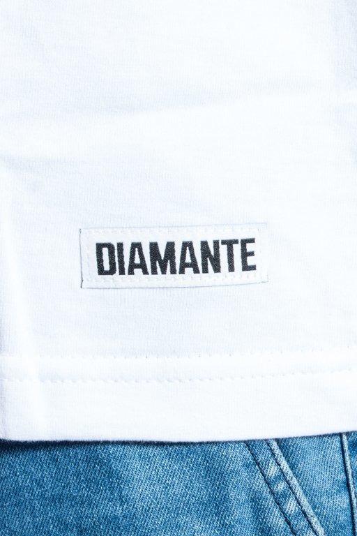 Koszulka Diamante Wear Dr Diggles White
