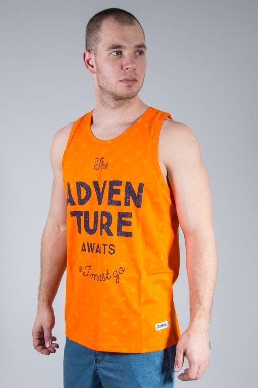 Koszulka Diamante Wear Tank Top Adventure Aviast Orange