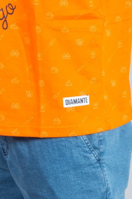 Koszulka Diamante Wear Tank Top Adventure Aviast Orange