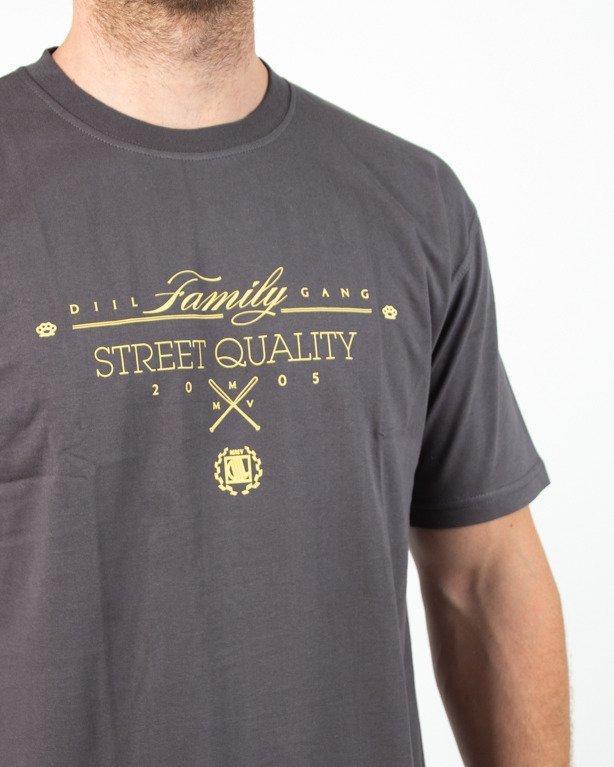 Koszulka Diil Family Grafit