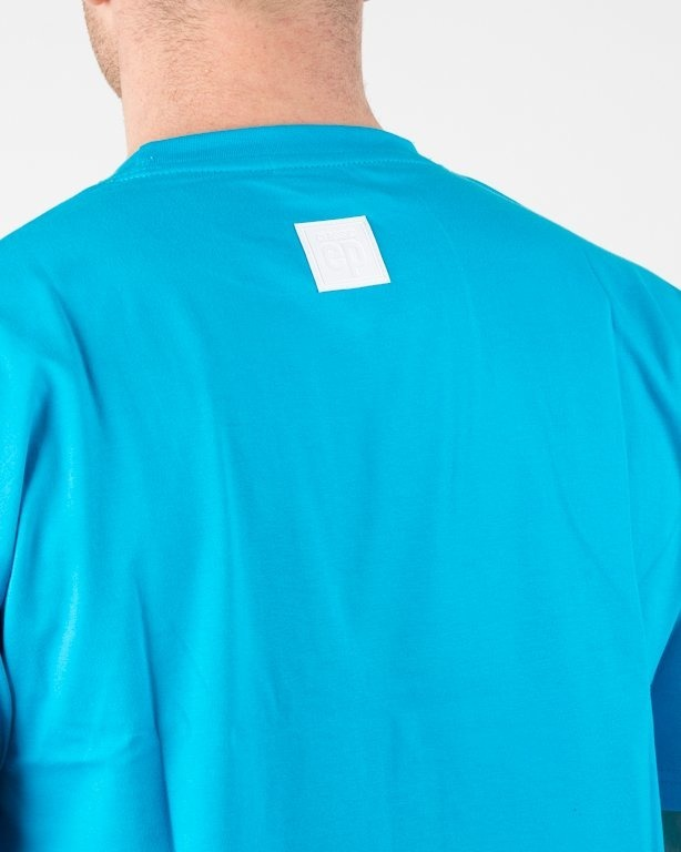 Koszulka El Polako Logobox Blue