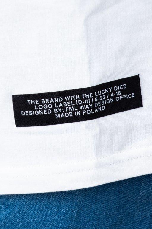 Koszulka Lucky Dice Logo White