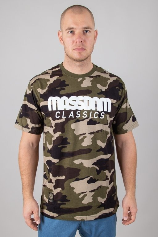 Koszulka Mass Classics Camo