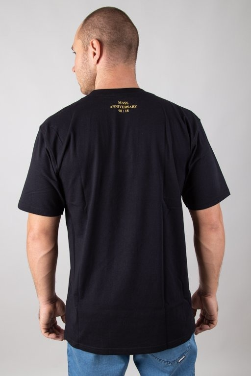 Koszulka Mass Golden Mic Black