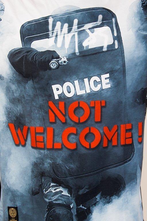 Koszulka Mass Not Welcome Black