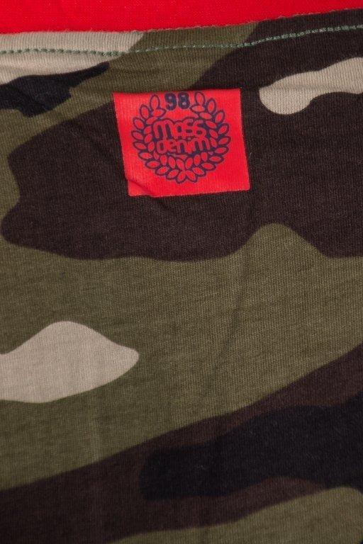 Koszulka Mass Truman Camo Green