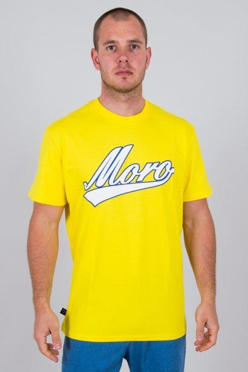 Koszulka Moro Baseball18 Yellow