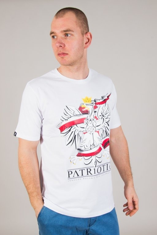 Koszulka Patriotic Godło White