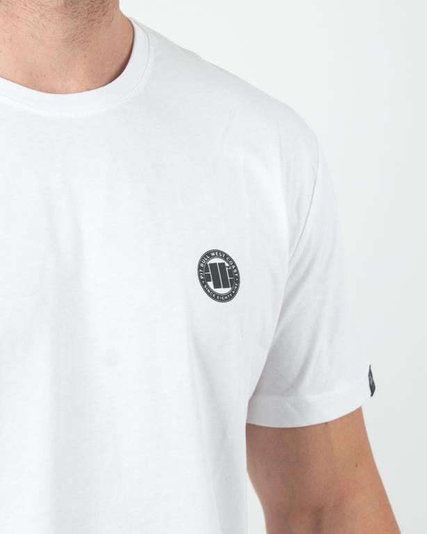 Koszulka Pitbull Small Logo White