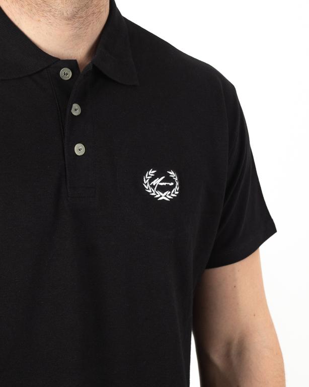 Koszulka Polo Moro Mini Paris Black