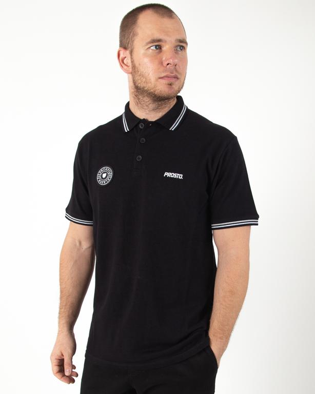 Koszulka Polo Prosto Clubz Black
