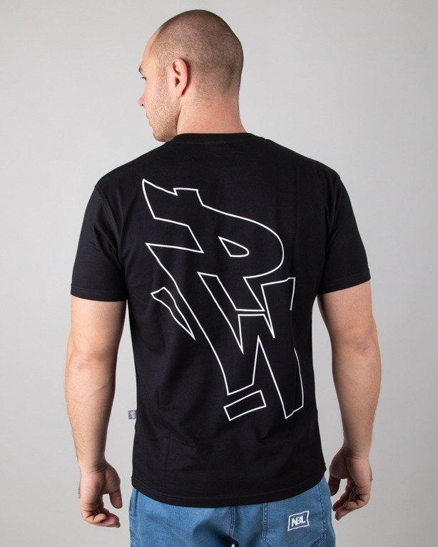 Koszulka Polska Wersja Pw Outline Black