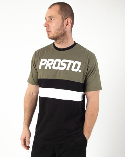 Koszulka Prosto Ami Olive-Black