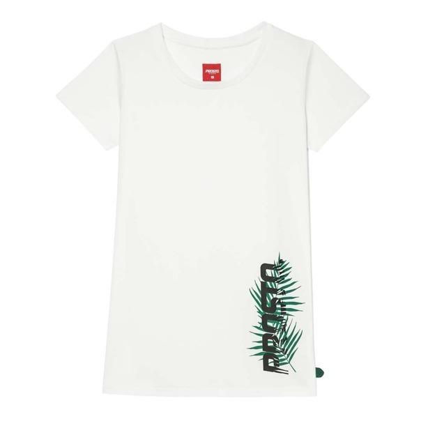 Koszulka Prosto Leaf Foeva White