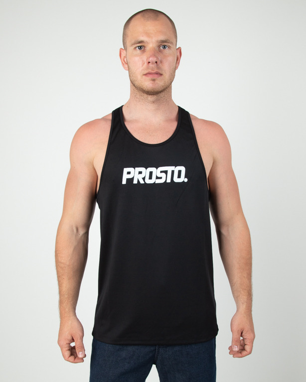 Koszulka Prosto Tank Top Hole Black