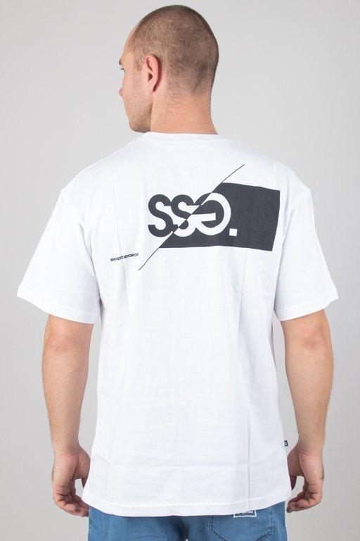 Koszulka SSG Front Back Cut Logo White