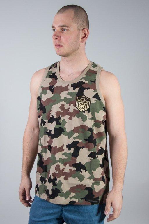 Koszulka SSG Tank Top Premium Moro Dark Camo