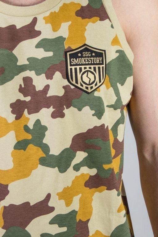 Koszulka SSG Tank Top Premium Moro Piaskowe Camo