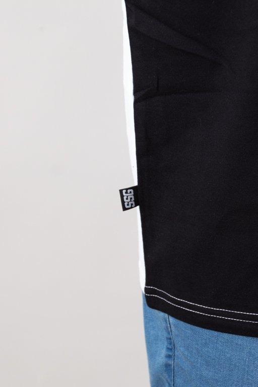 Koszulka SSG Three Colors White-Grey-Black