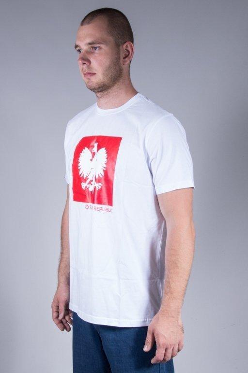 Koszulka Slava Republic Flaga Godło White