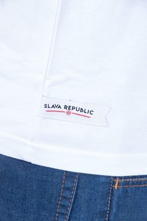 Koszulka Slava Republic Zawisza Czarny White