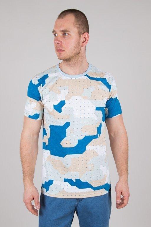 Koszulka Stoprocent Camu Blue