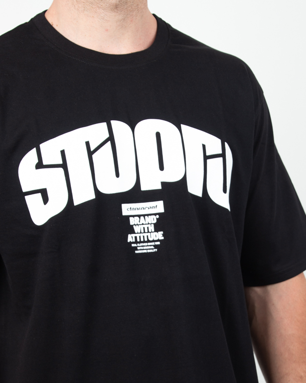 Koszulka Stoprocent Futureretro Black