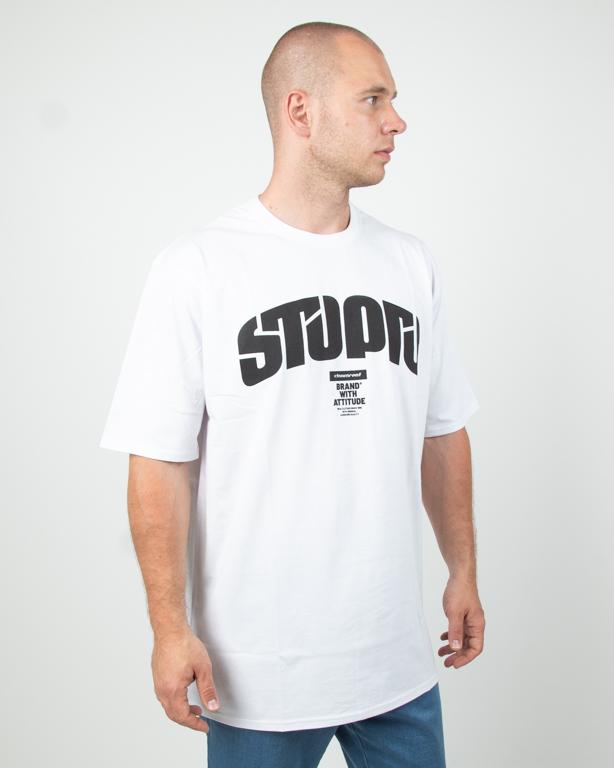 Koszulka Stoprocent Futureretro White