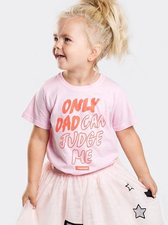 Koszulka Stoprocent Kid Dad Pink