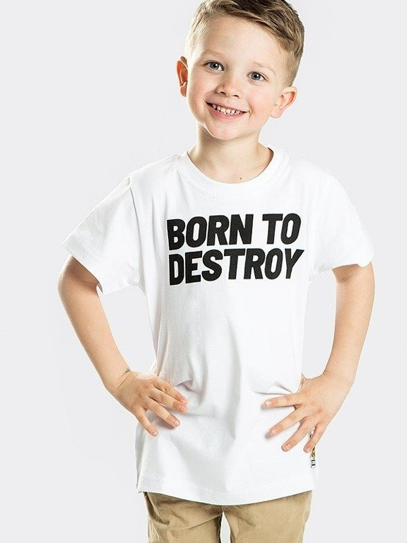 Koszulka Stoprocent Kid Destroy White