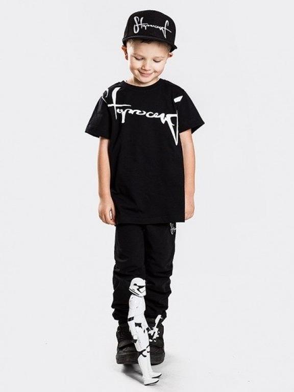 Koszulka Stoprocent Kid Downhill Black