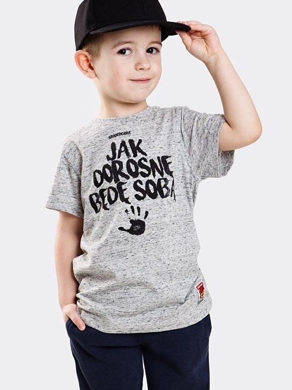 Koszulka Stoprocent Kid Jak Dorosnę Melange