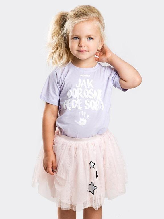 Koszulka Stoprocent Kid Jak Dorosnę Violet