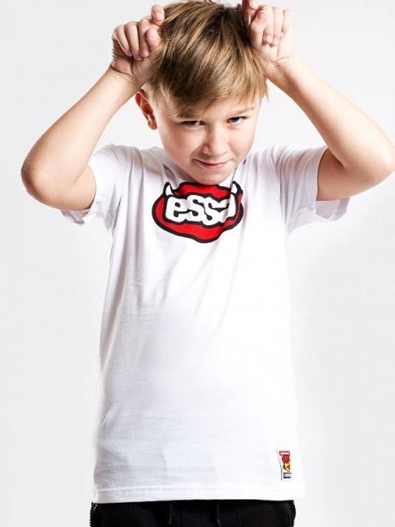 Koszulka Stoprocent Kids Essa White