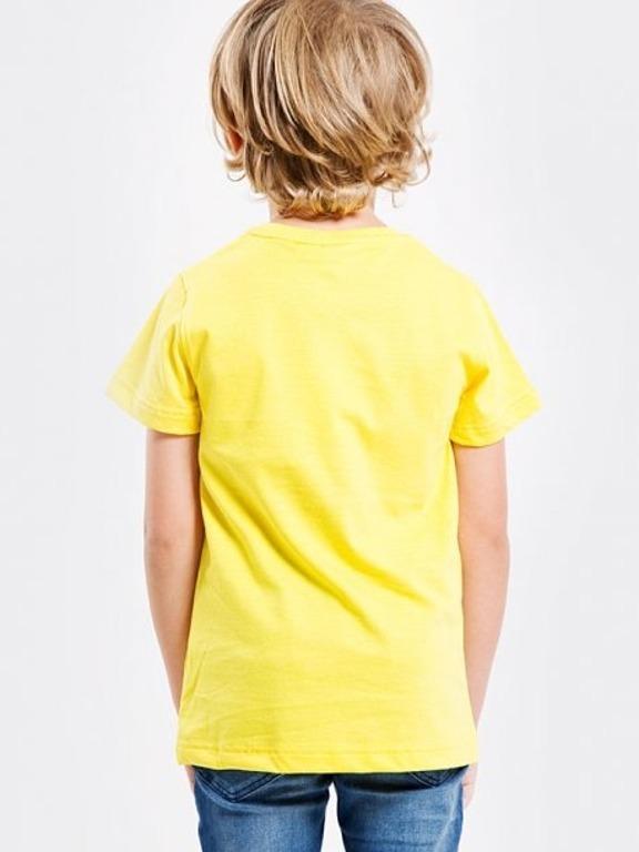 Koszulka Stoprocent Kids Smile Yellow
